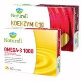 Zestaw Naturell, Koenzym Q-10 100 mg, 30 kapsułek + Omega-3 1000 mg, 60 kapsułek - miniaturka zdjęcia produktu