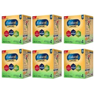 Enfamil 4 Premium MFGM, mleko modyfikowane w Proszku, po 2 roku życia, 6 x 1200 g - zdjęcie produktu
