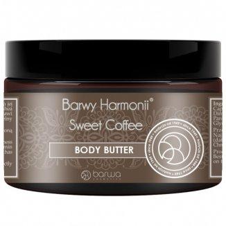 Barwa Barwy Harmonii, masło do ciała Sweet Coffe, 200 ml - zdjęcie produktu