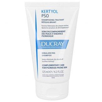 Ducray Kertyol P.S.O, szampon normalizujący, skóra skłonna do łuszczycy, 120 ml - zdjęcie produktu