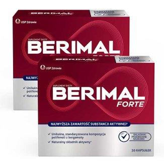 Berimal Forte, 2 x 30 kapsułek - zdjęcie produktu