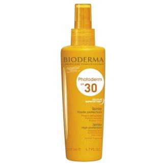 Bioderma Photoderm, spray ochronny SPF30, 200 ml - zdjęcie produktu