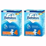 Zestaw Bebilon Advance 4, mleko modyfikowane, po 2 roku, 2 x 1100 g - miniaturka zdjęcia produktu