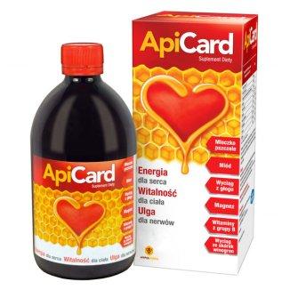 ApiCard, syrop, 500 ml - zdjęcie produktu