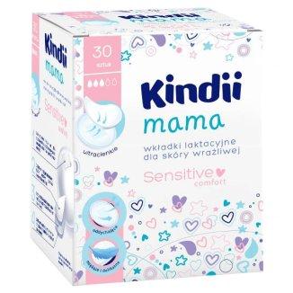 Cleanic Kindii, Mama Sensitive, wkładki laktacyjne, 30 sztuk - zdjęcie produktu