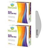 Zestaw Naturell, Silica Biotyna Max, 2 x 60 tabletek + dodatkowo pilnik do paznokci - miniaturka zdjęcia produktu
