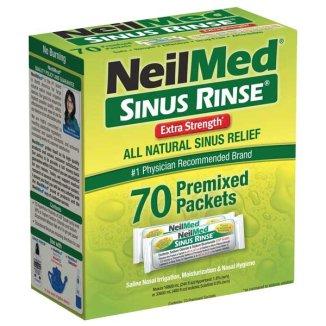 SINUS RINSE Extra Strength, zestaw uzupełniający, 70 saszetek - zdjęcie produktu