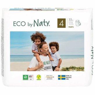 Eco By Naty, pieluchomajtki rozmiar 4, 8-15 kg, 22 sztuki - zdjęcie produktu