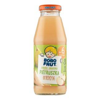 Bobo Frut Sok 100%, jabłko, gruszka i pietruszka, po 6 miesiącu, 300 ml - zdjęcie produktu