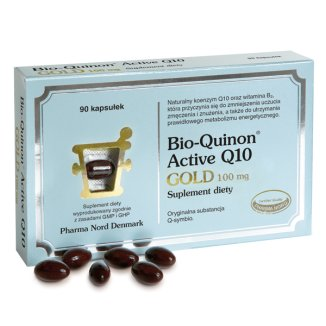 Bio-Quinon Active Q10 Gold 100 mg, 90 kapsułek - zdjęcie produktu