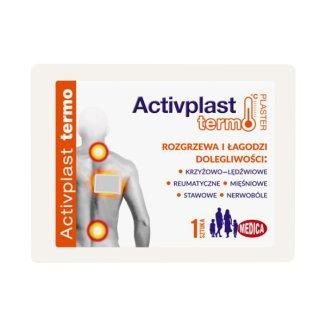 ActivPlast Termo, plaster rozgrzewający, węglowy, 1 sztuka - zdjęcie produktu