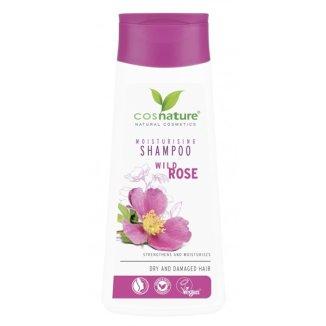 Cosnature, szampon do włosów nawilżający, dzika róża, 200 ml - zdjęcie produktu