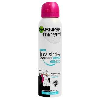 Garnier Mineral, antyperspirant w sprayu, Clean Cotton, 150 ml - zdjęcie produktu