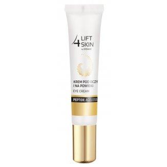 Lift 4 Skin, Peptide Ageless, przeciwzmarszczkowy krem pod oczy i na powieki, 15 ml - zdjęcie produktu