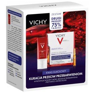 Zestaw Vichy Liftactiv Collagen Specialist, krem redukujący zmarszczki, SPF 25, 50 ml + Liftactiv Glyco-C, skoncentrowana kuracja przeciw przebarwieniom na noc, 2 ml x 10 ampułek - zdjęcie produktu