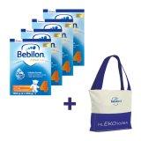 Zestaw Bebilon Advance 4, mleko modyfikowane, po 2 roku, 4 x 1100 g + dodatkowo mlekotorba - miniaturka zdjęcia produktu