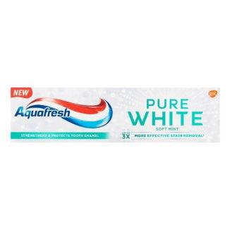 Aquafresh Pure White, pasta do zębów, Soft Mint, 75 ml - zdjęcie produktu