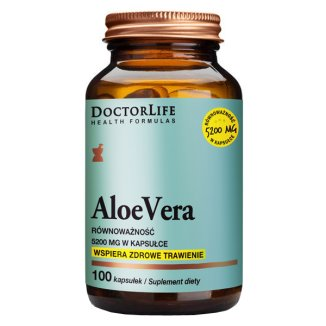 Doctor Life AloeVera, 100 kapsułek - zdjęcie produktu