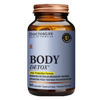 Doctor Life Body Detox, 90 kapsułek - zdjęcie produktu