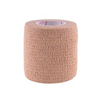 5E, bandaż samoprzylepny Non-Woven Premium, bezlateksowy, beżowy, 5 cm x 4,5 m - zdjęcie produktu