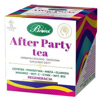 Bi Fix, After Party Tea, herbatka ziołowo-owocowa, 15 saszetek - zdjęcie produktu