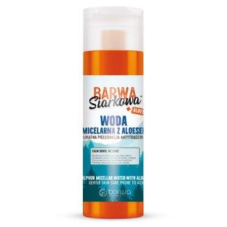 Barwa Siarkowa, woda micelarna z aloesem, 200 ml - zdjęcie produktu