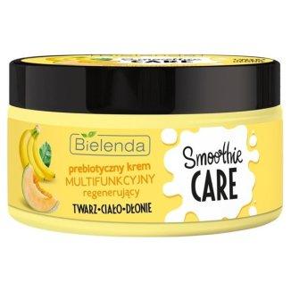 Bielenda Smoothie Care, prebiotyczny krem multifunkcyjny, regenerujący, prebiotyk, banan, melon, 200 ml - zdjęcie produktu