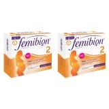 Zestaw Femibion 2, Ciąża, 2 x 28 tabletek + 2 x 28 kapsułek - miniaturka zdjęcia produktu