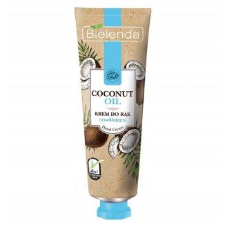Bielenda Hand Cream, krem do rąk nawilżający, Coconut Oil, 50 ml - zdjęcie produktu