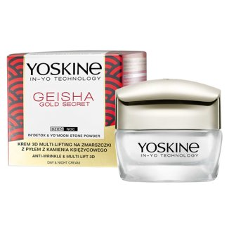 DAX Yoskine Geisha Gold Secret, krem 3D multi-lifting na zmarszczki, na dzień i na noc, 50 ml - zdjęcie produktu