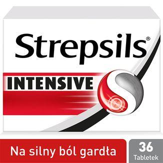 Strepsils Intensive 8,75 mg, 36 tabletek do ssania - zdjęcie produktu