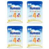 Zestaw Humana 4, mleko modyfikowane po 24 miesiącu, Proszek, 4 x 800 g - miniaturka zdjęcia produktu