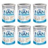 Zestaw Nestle NAN EXPERT bezlaktozowy, dla niemowląt w nietolerancji laktozy oraz biegunce, od urodzenia, 6 x 400 g - miniaturka zdjęcia produktu