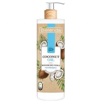 Bielenda Coconut Oil, balsam do ciała, nawilżający, 400 ml - zdjęcie produktu