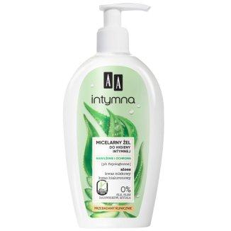 AA Intymna Nawilżenie i Ochrona, miceralny żel do higieny intymnej, 300 ml - zdjęcie produktu