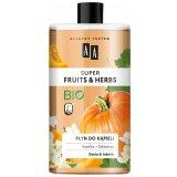 AA Super Fruits & Herbs, płyn do kąpieli, dynia & jaśmin, 750 ml - miniaturka zdjęcia produktu
