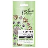 Polka Glitter, maska do twarzy peel off, owies, wygładzenie + oczyszenie, 6 ml - miniaturka zdjęcia produktu