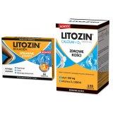 Zestaw Litozin Kolagen, 30 tabletek + Litozin Calcium+D3, 120 tabletek - miniaturka zdjęcia produktu