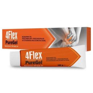 4Flex PureGel 100 mg/ g, żel, 100 g  - zdjęcie produktu