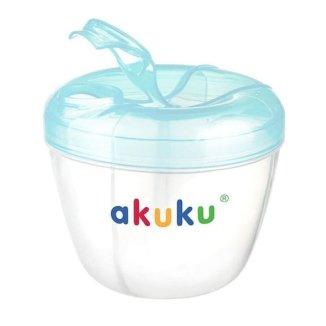 Akuku, pojemnik na mleko w proszku, niebieski, A0461, 1 sztuka - zdjęcie produktu
