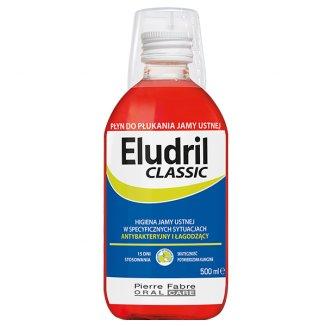Eludril Classic, płyn do płukania jamy ustnej, 500 ml - zdjęcie produktu