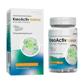 Activlab Pharma KreoActiv Trawienie, 50 kapsułek dojelitowych - zdjęcie produktu