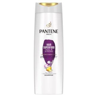 Pantene Pro-V Hair Superfood, szampon do włosów słabych i cienkich, 400 ml  - zdjęcie produktu