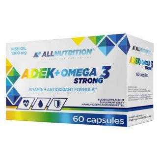 Allnutrition ADEK + Omega 3 Strong, 60 kapsułek - zdjęcie produktu