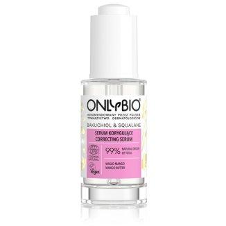 OnlyBio Bakuchiol & Skwalan, serum korygujące do twarzy, 30 ml - zdjęcie produktu