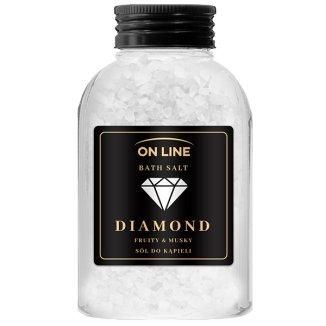 On Line Diamond, sól do kąpieli, 600 g - zdjęcie produktu