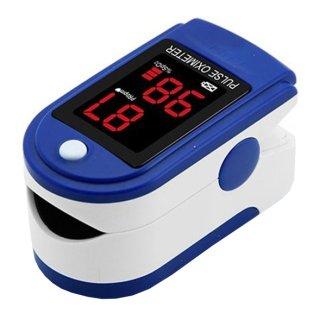 Contec CMS50DL, pulsoksymetr napalcowy, niebieski - zdjęcie produktu