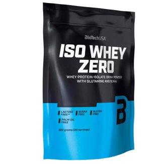 BioTech Iso Whey Zero, białko, smak czekoladowy, 500 g - zdjęcie produktu