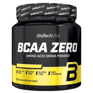 BioTechUSA BCAA Zero, smak pomarańczowy, 360 g - zdjęcie produktu