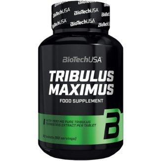 BioTechUSA Tribulus Maximus, buzdyganek, 90 tabletek - zdjęcie produktu